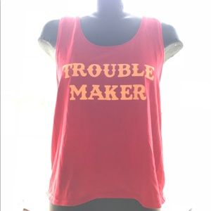 "🤫 ""TROUBLE MAKER"" TANK TOP!"